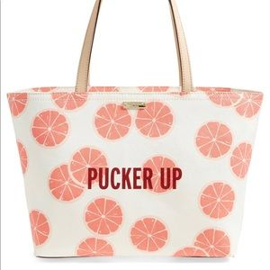Kate Spade Flights of Fancy Pucker Up Francis Bag
